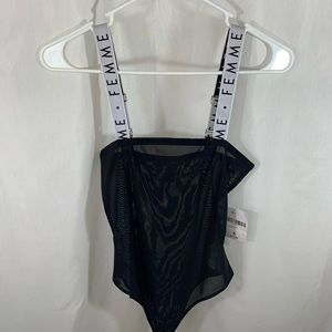 NEW with tags! Forever21 Mesh Body Suit